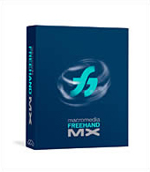 picture of Macromedia Freehand MX product box