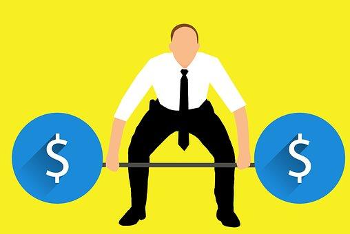 business-man-lifting-dollar-weights