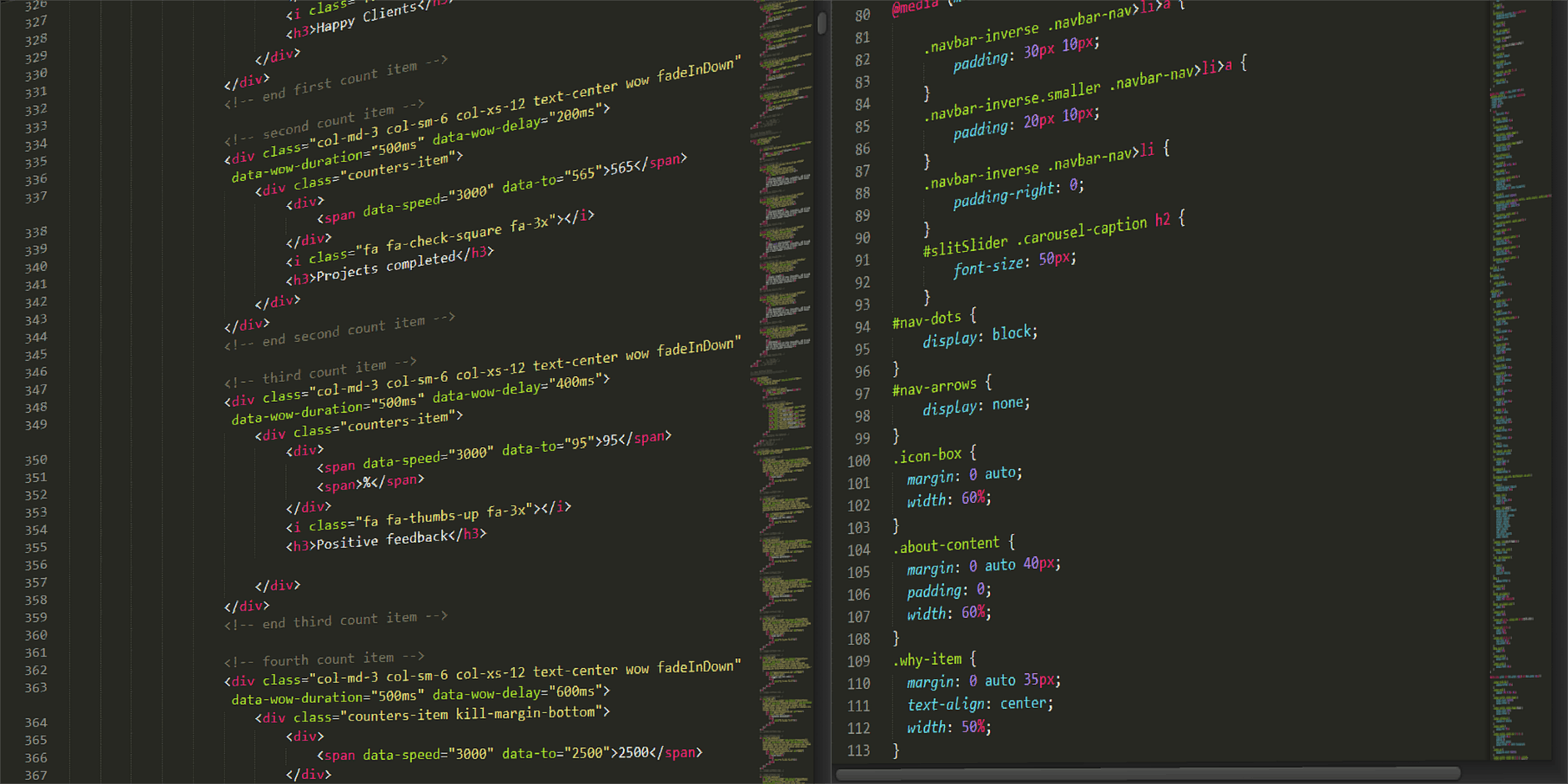 Converting a Page to CSS