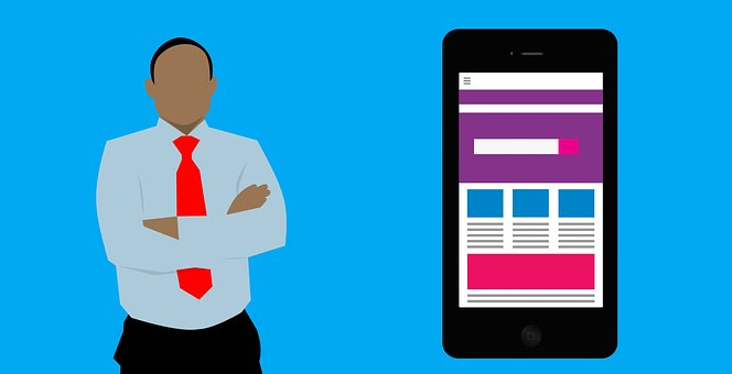 Designer-and-a-phone-with-a-web-design