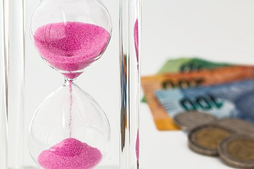 hourglass-money-and-time